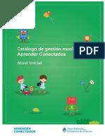 Catálogo de Gestión Escolar Aprender Conectados - Nivel Inicial (2)