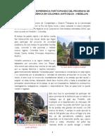 Memoria de 3 Meses en Medellín