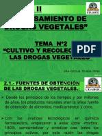 TEMA Nº2 -CULTIVO Y RECOLECCIÃ_N DE DROGAS VEGETALES.pptx