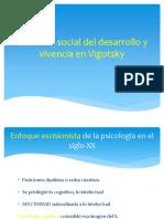 Situación Social Del Desarrollo y Vivencia en Vigotsky