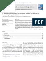 A Quantitative Assessment of Energy Strategy 2011