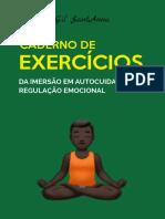 Caderno de Exercicios - Imersão em Autocuidado e Regulação Emocional