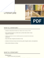 1. Introduction History and Time Frames of Philippine Literature