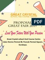 Proposal Great Fair 2019 2