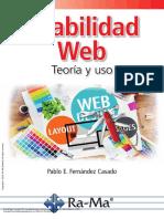 Usabilidad Web Teoría y Uso ---- (Pg 1--1)