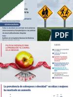Políticas integrales para la prevención y el control de la obesidad