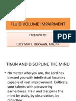 f & e Volume Impairment