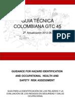 Presentaciòn GUIA TÉCNICA COLOMBIANA GTC 45 VERSIÓN 2012.pptx