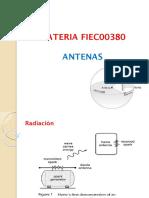 Antenas Diapositivas 1er y 2do Parcial