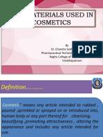 Raw Material Cosmetic