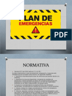 Diapositivas de Plan de Emergencias