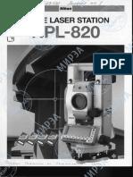 Ficha tecnica Nikon Npl-820