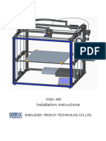 Tronxy X5SA-400 Installation GuideV6.2
