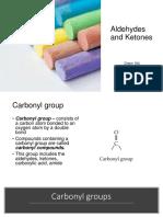 2019 Chemistry Aldehydes Ketones