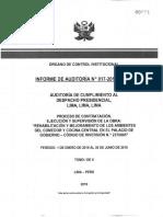 Contraloría investiga a secretaria general de la Presidencia por obras en Palacio de Gobierno