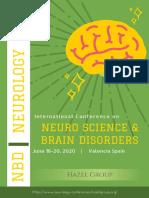 Neuro Conference 2020 Tentative