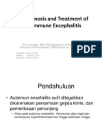 Diagnosis and Treatment of Autoimmune Encephalitis Docx