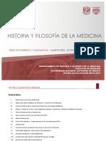 historia y filosofía de la medicina