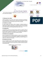 8 Avaliação Da Redação - Os Cinco Pecados Capitais - Só Português