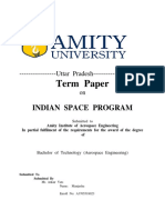 INDIAN SPACE PROGRAM