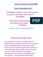 LEB the Class Presentation No.2