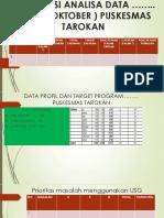 Analisis Data Program OKTOBER 2019