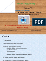 Protein Binding of Drug