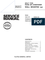 FUJITSU INVERTER AC SERVICE MANUAL