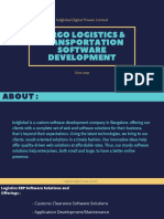 Best Cargo & Logistics Web Software Development Company in India