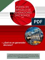 Puesta en Paralelo de Generadores Sincronos (1)