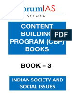 CBP Book 3 Indian Society and Social Issues ForumIAS