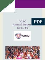CORO Annual Report 2014-15