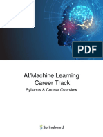 career track for AI/ML