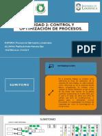 Control y Optimización de Procesos.