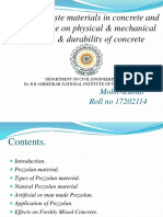 industrial waste materials in concrete