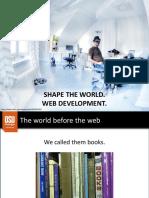 1. Web Development Overview