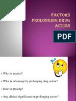 PK-Factors Prolonging Drug Action-1
