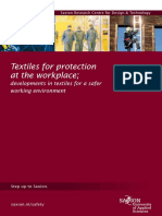 Textiles for Protection at the Workspace