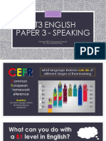 PT3 ENGLISH Speaking - Taklimat Pelajar