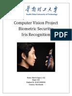 Iris Recognition Report