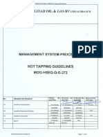 Hot Tapping Guidlines