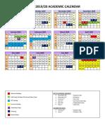 4LIFE Academic Calendar