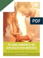 Planejamento de aplicativo moveis