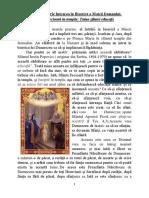 21 Noiembrie, Intrarea in Biserică a Maicii Domnului, 2019