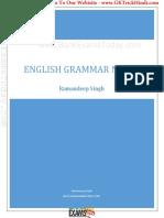 English Grammar notes by Ramadeep Singh