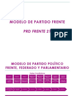 Modelo Partido Frente PRD21
