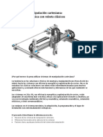 Sistemas de Manipulacion Cartesiana Frente a Robots Clasicos