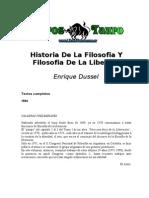 Dussel, Enrique - Historia de La Filosofia Y Filosofia de La Liberacion