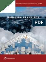 Managing Headwinds World Bank April 2019
