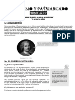 Filosofía y ciudadanía - Tema 6 - Feminismo y patriarcado - bachillerato